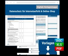 Dokumentenmappe: Datenschutz für Internetauftritt & Online-Shop
