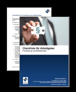 Checkliste für Arbeitgeber zur Freistellung von Betriebsräten