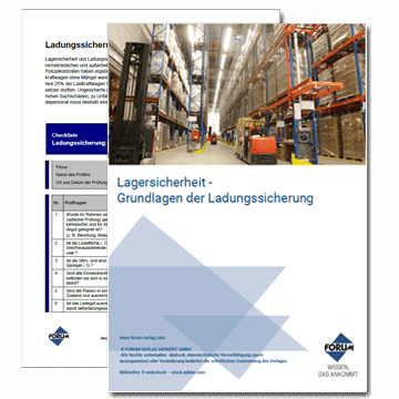 Gratis Download zur Ladungssicherung in der Lagersicherheit