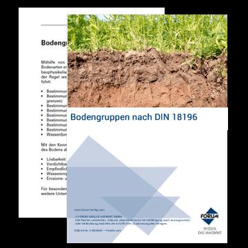 Bodengruppen nach DIN 18196