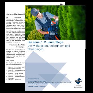 Die neue ZTV-Baumpflege 2017