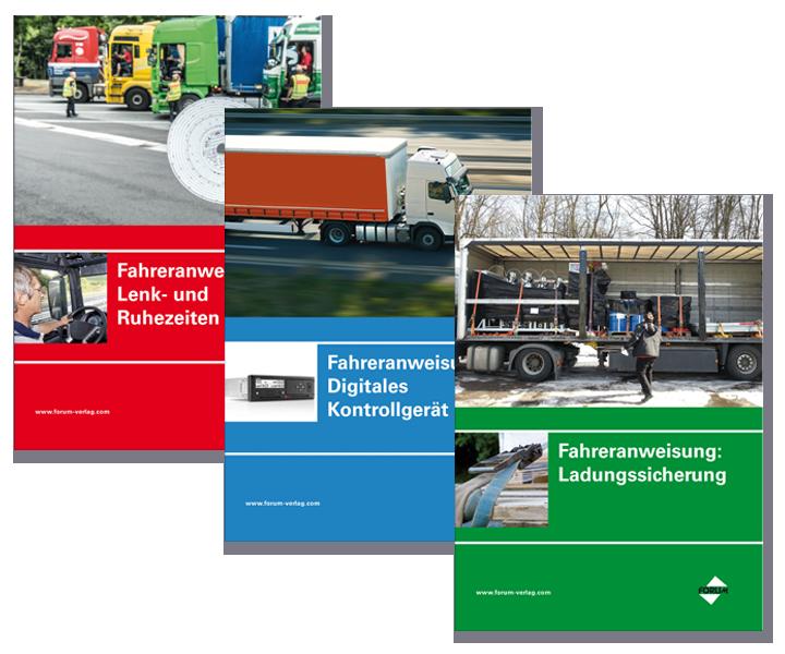 Set – Sofort einsetzbare Fahreranweisungen für Berufskraftfahrer