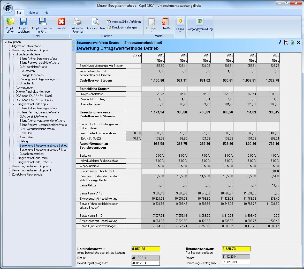 Software Unternehmensbewertung_Unternehmenswert-errechnen