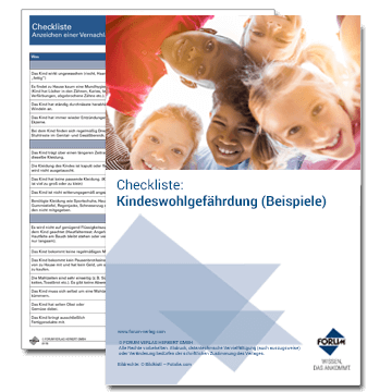 Checkliste: Kindeswohlgefährdung (Beispiele)