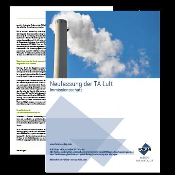 Neuerungen TA Luft - Immissionsschutz