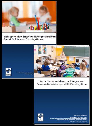 Gratis Unterrichtsmaterialien zum Thema Flüchtlingskinder in der Schule - Integration