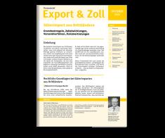 Themenbrief Zoll & Export