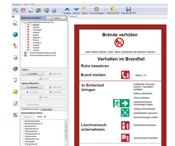 muster brandschutzordnung teil a - Brandschutzordnung Muster