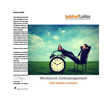 Workbook Zeitmanagement