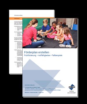 Vorlage für Förderpläne in Kitas und Grundschulen