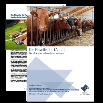 Die Novelle TA Luft - Was Landwirte wissen müssen!