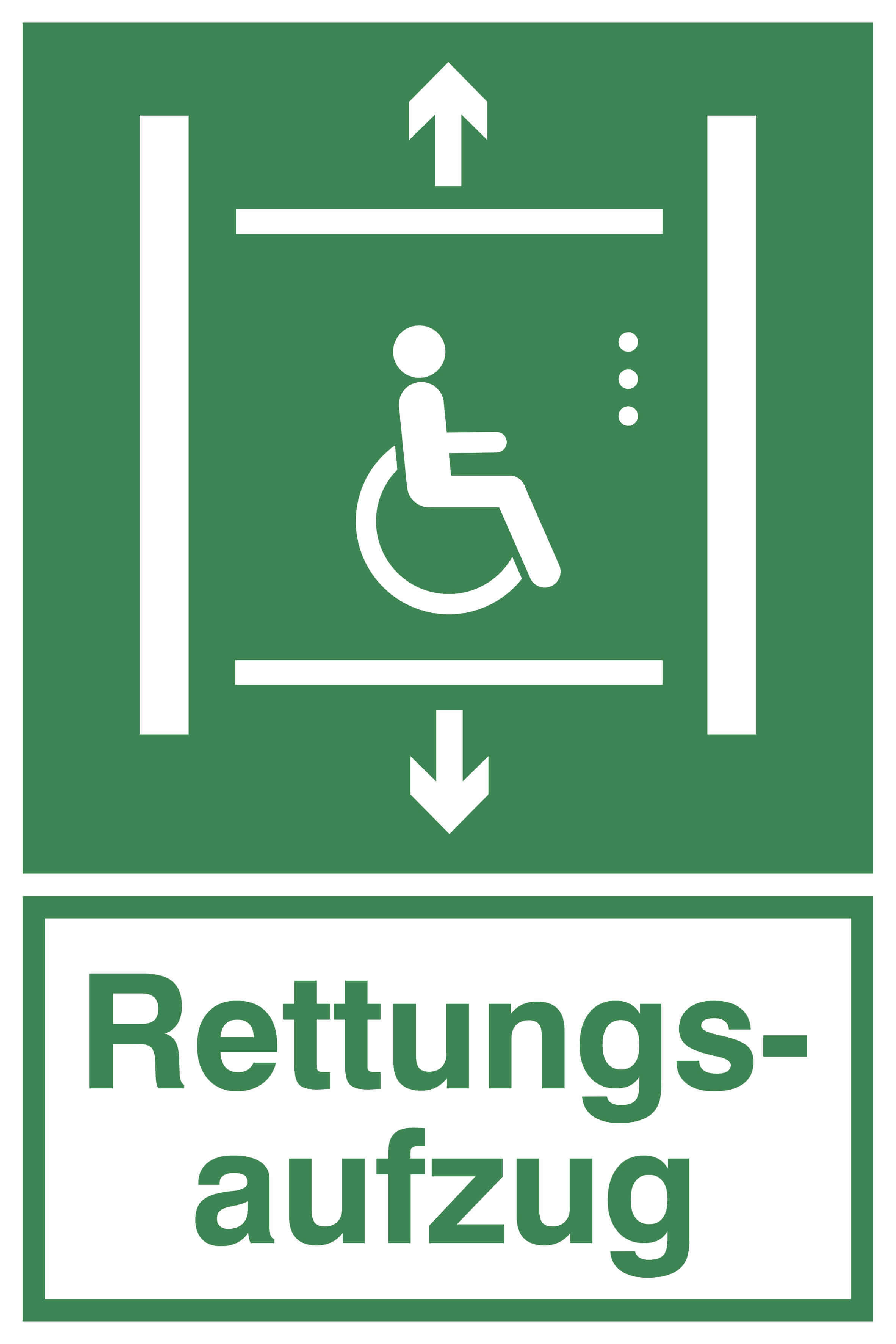 Kennzeichnung-Rettungsaufzug-Forum-Verlag-Herkert-GmbH