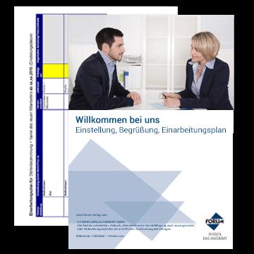 Vorlage Einarbeitungsplan + Konzept für die Einarbeitung neuer Mitarbeiter