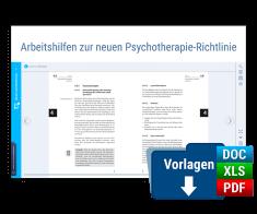 Arbeitshilfen zur neuen Psychotherapie-Richtlinie