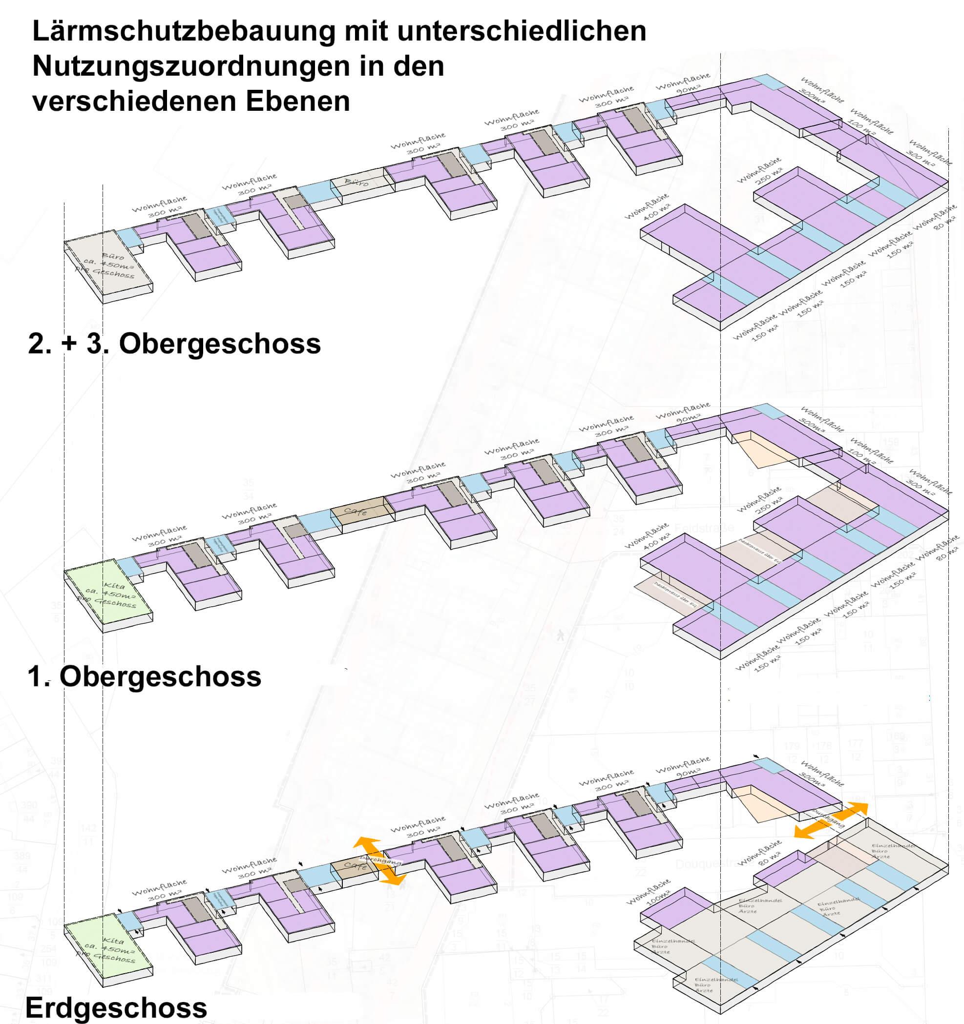 Urbanes-Gebiet-Fallbeispiel-Bebauungsplan-Planungsburo-ISU
