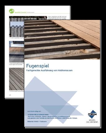 Fachgerechte Ausführung von Holzterrassen