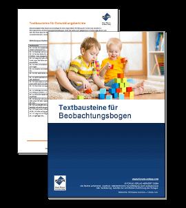 Textbausteine für Beobachtungsbogen