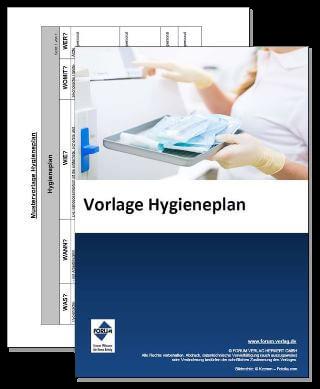 Vorlage Hygieneplan (Was-Wann-Wie-Womit-Wer)