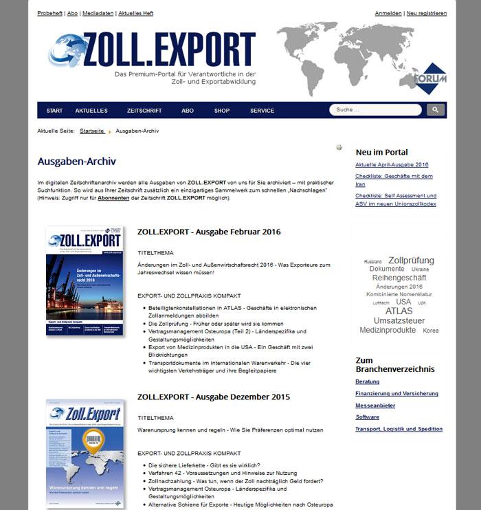 Ausgaben-Archiv-auf-dem-Portal-Zoll-Export