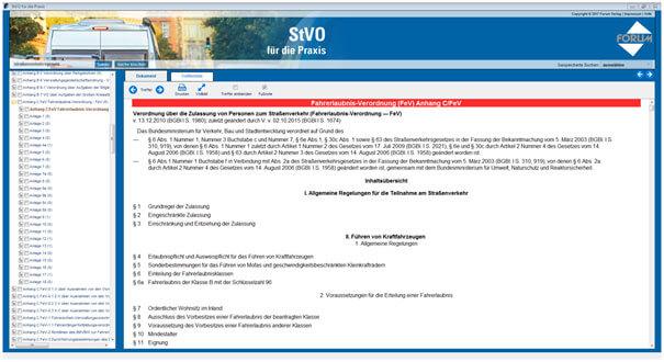 Fahrererlaubnis-Verordnung (FeV)