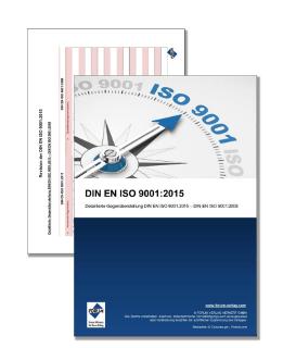 Gratis-Merkblatt: DIN EN ISO 9001:2015