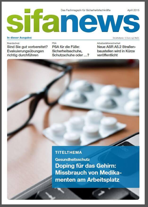 sifanews - das Fachmagazin für Sicherheitsfachkräfte