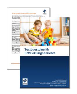 Textbausteine für Entwicklungsberichte
