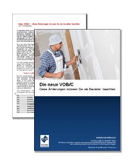 Gratis-Fachartikel über die wichtigsten Änderungen der neuen VOB/C