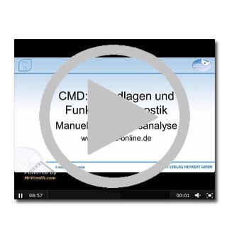 Kostenloses Experten-Video über CMD - Grundlagen und Funktionsdiagnostik