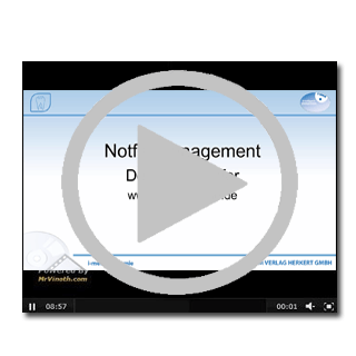 Video über die Inhalte eines Notfallkoffers in einer Zahnarztpraxis