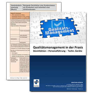 Checklisten und Fachartikel zum Thema Qualitätsmanagement in der Praxis
