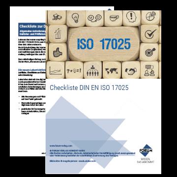 Checkliste DIN EN ISO 17025