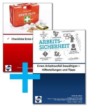 """Gratis-Merkblatt """"Einen Arbeitsunfall bewältigen – Hilfestellungen und Tipps""""  + Checkliste für das Erste-Hilfe-Material!"""