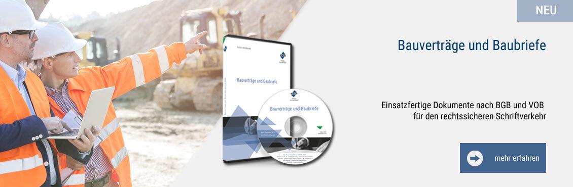 Bauverträge und Baubriefe