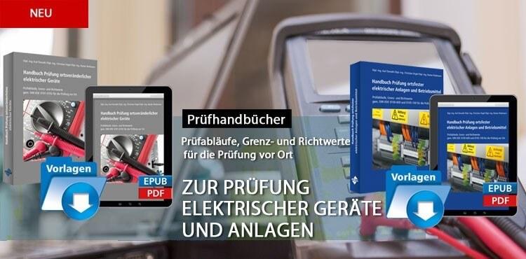 Prüfhandbücher Elektrische Geräte und Anlagen