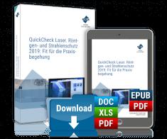 QuickCheck Laser-, Röntgen- und Strahlenschutz 2019: Fit für die Praxisbegehung