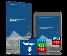 Das Baustellenhandbuch VOB und BGB