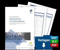 Dokumentenmappe: Datenschutz im Unternehmen