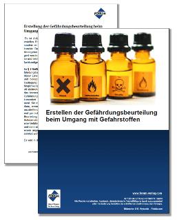 Gratis Whitepaper zu Gefährdungsbeurteilung bei Gefahrstoffen
