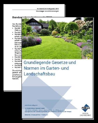 Gratis-Download-Paket zum Thema Garten- und Landschaftsbau
