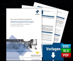 Prüf- und Dokumentationsmappe: Gefährdungsbeurteilungen