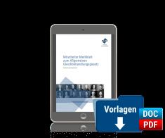 Mitarbeiter-Merkblatt zum Allgemeinen Gleichbehandlungsgesetz