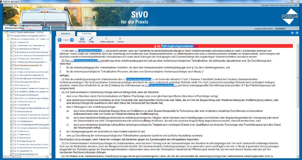 Straßenverkehrsgesetz (StVG) - § 4a