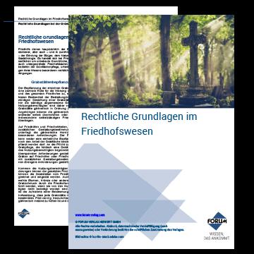 """Fachartikel """"Rechtliche Grundlagen im Friedhofswesen"""""""