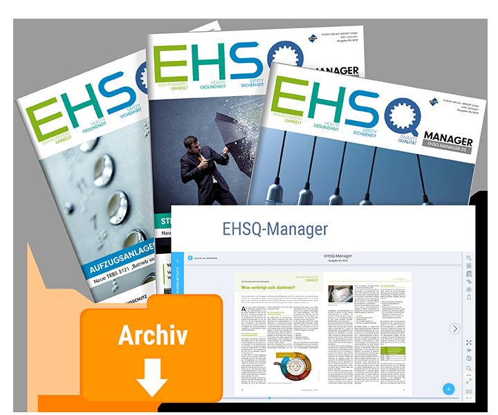 Der EHSQ-Manager