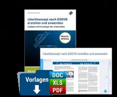 Löschkonzept nach DSGVO erstellen und anwenden