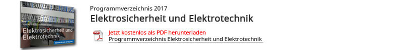 Programmverzeichnis Elektrosicherheit
