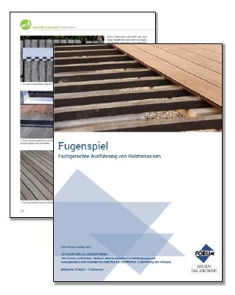 Kostenloser Fachartikel zur fachgerechten Ausführung von Holzterrassen