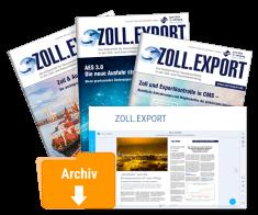 Zeitschrift ZOLL.EXPORT