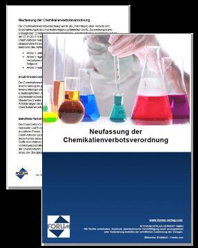 Die Neufassung der Chemikalienverbotsverordnung (ChemVerbotsV)